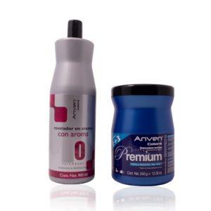 Decolorante Premium 350gr + Peróxido Anven