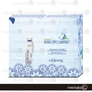 Ampolleta Primer Pure Lino Bambu 1pza Loquay