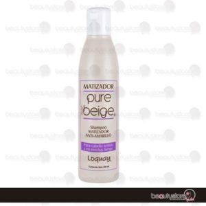 Shampoo Matizador Beige Loquay