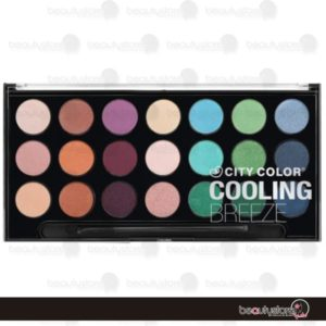 Paleta De Sombras Cooling Breeze E-0038 City Color