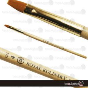 Pincel Royal Kolinsky Natural Gel #4 GEL-4