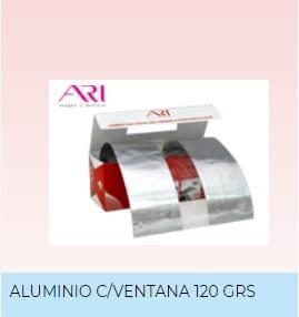 Papel Aluminio Ventana Ari